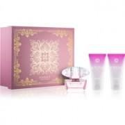 Versace Bright Crystal lote de regalo VI. eau de toilette 50 ml + leche corporal 50 ml + gel de ducha 50 ml