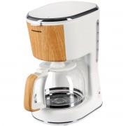 Cafetiera Heinner HCM-WH900BB, 900 W, 1.25 L, Filtru detasabil, Functie anti-picurare, Oprire automata, Alb