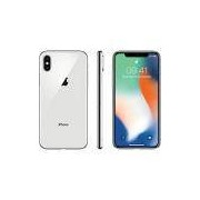 iPhone X Prata 64GB Tela 5.8 IOS 11 4G Wi-Fi Câmera 12MP - Apple