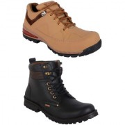 Woakers Men's Staylish Boot boot Combo Shoes