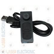 Mini Spy Camera DVR S918 Telecamera Tascabile Nascosta in Bottone