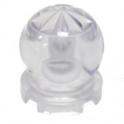 Lego Parts: Minifig Utensil Crystal Ball Globe 2 x 2 x 2 (Transparent Clear)