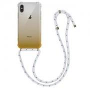 kwmobile Etui dla Apple iPhone X - żółty