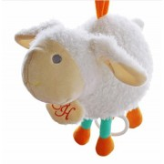 Baby Bed Hanging Baby Rattle Animal Hand Bell New Born Infant Gift Educational Musical Lamb Toy