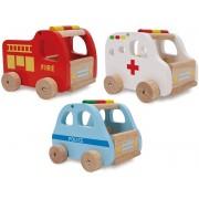Sada dřevěných aut /3ks