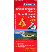 Wegenkaart - landkaart 713 Groot-Brittannië & Ierland 2018 Great Britain | Michelin