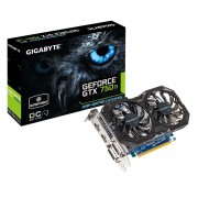 GIGABYTE NVIDIA GEFORCE GTX750 Ti 2GB DDR5 OC GV-N75TOC2-2GI PCI-E Video Card
