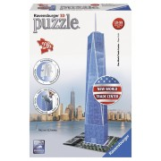 Ravensburger puzzle 3d world trade center, 216 piese