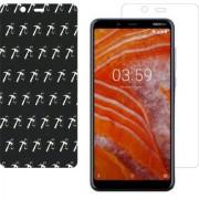 Nokia 3.1 Plus AntiGlare Screen Guard By Dream Makers 5D 7 LAYER NON-BREAKABLE GLASS