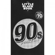 Music Sales The Little Black Songbook of 90's Hits Songbook