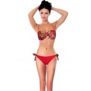 Tropico bardot dámské plavky s výztuží M červená