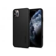 Etui iPhone 11 Pro Max Spigen Thin Fit 360 Black 2x Szkło