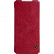 NILLKIN Qin Series Leather Card Holder Case for Huawei P30 - Red