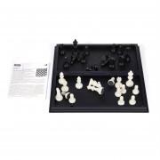 Internacional De Ajedrez Mini-Set Black & White Con Tablero De Ajedrez