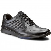 Обувки CLARKS - Tynamo Race 261199087 Black Leather