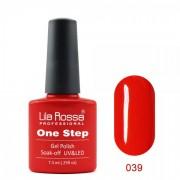 Oja semipermanenta OneStep Lila Rossa Professional 7.3ml OLROS039