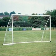 Soccer Goal Goal Post Net (White, 8 x 4 Feet)