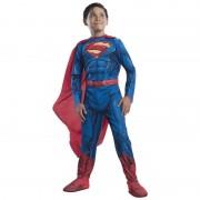 Costum de carnaval pentru baieti Superman Invincibil, 3 ani+