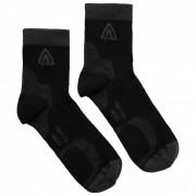 Aclima Running Socks 2-Pack Calze merino (32-35, nero)