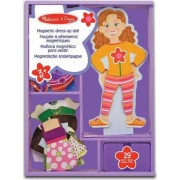 Maggie Leigh Magnetic Dress-Up Doll din lemn - 13552
