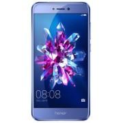 "Telefon Mobil Huawei Honor 8 Lite (2017), Procesor Octa-Core 2.1GHz / 1.7GHz, IPS LCD Capacitive touchscreen 5.2"", 4GB RAM, 64GB Flash, 12MP, Wi-Fi, 4G, Dual Sim, Android (Albastru) + Cartela SIM Orange PrePay, 6 euro credit, 4 GB internet 4G, 2,000 minut"