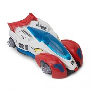Bharat Shopper Store Plastic Automatic Electric Spider Man 3 Car (Red and Blue)