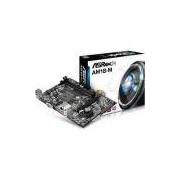 Placa Mãe Asrock Am1 Am1b-Mh Com Video Som E Rede Integrado