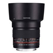 Samyang 85mm f/1.4 IF MC Aspherical Objetivo (MILC, 9/7, Telephoto, Canon, Black, 72.2)