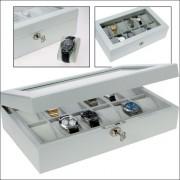 SAFE Förvaringsbox B12 Vit - Box för 12 klockor 4197001