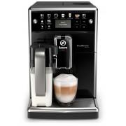 Espressor automat Philips Saeco PicoBaristo Deluxe SM5570/10,15 bari, Latte Perfetto, 12 setări măcinare, 5 setări intensitate,13 băuturi, Filtru AquaClean, Recipient lapte 0.5 L, Rezervor apa 1.7 L, Opţiune cafea măcinată, Display LCD, Negru lucios