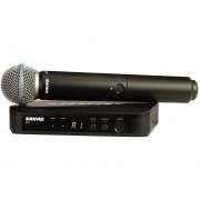 Microfono Shure BLX24B58 1 Canal Negro