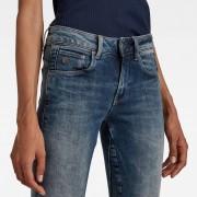 G-Star RAW Arc 3D Mid Waist Skinny Jeans - 24-32