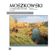 """Moszkowski 15 Virtuosic Etudes, Opus 72 For the Piano: """"Per Aspera"""