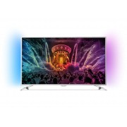 Televizor LED Philips 43PUS6501/12, 108 cm, Smart, Ultra HD 4K, Android, Argintiu