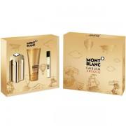 Mont Blanc Emblem Absolu Set (EDT 100ml + EDT 7.5ml + SG 100ml) για άνδρες