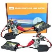 AMP Xenon-konverteringskit H4 Flex 35W Slim - 4300K