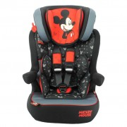 Disney Baby Car Seat LUXE Mickey Mouse 1+2+3 Red and Black