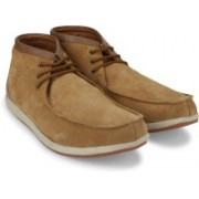 Woodland Leather Outdoor shoes For Men(Tan)