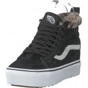Vans Ua Sk8-hi Platform Mte (mte) Black/leopard Fur, Skor, Sneakers & Sportskor, Höga sneakers, Svart, Dam, 41