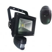 PIR Detektor + HD Kamera s WiFi v LED reflektore