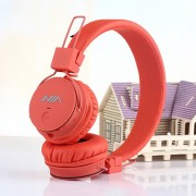 NIA X2 4-in-1 Bluetooth Hands-free Headphone Support Micro SD Player / FM Radio - Orange
