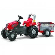 Traktor na pedale sa prikolicom Rolly Toys Rolly Junior 800261