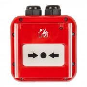 Buton de incendiu Teletek SensoIRIS MCP150 IP67 adresabil, rezistent la apa, led stare (Teletek)