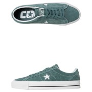 Converse Mens One Star Pro Suede Shoe Hasta Hasta