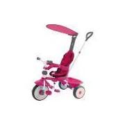 Triciclo Xalingo Confort Ride 3x1, Rosa