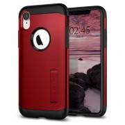 Spigen Coque iPhone XR Spigen Slim Armor Case - Rouge