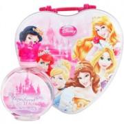 Disney Princess lote de regalo I. eau de toilette 100 ml + táper de merienda