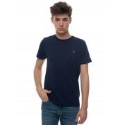 Gant T-shirt Blu Cotone Uomo
