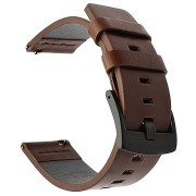 Tactical bőrszíj Samsung Galaxy Watch Active okosórához - barna (EU Blister)
