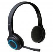 Diadema Inalambrica Logitech H600 Con Microfono Wireless-Negro